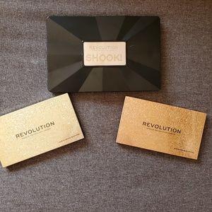 Makeup Revolution palette bundle